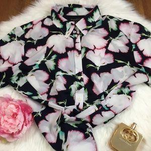 BANANA REPUBLICSz XL Long-Sleeve Women Blouse
